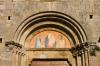 San Leonardo church, Montefollonico, Val d'Orcia, Siena province, Tuscany, Italy by Sergio Pitamitz