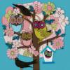 Summer Owl Tree by Helen Musselwhite