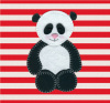 Cute Panda by Catherine Colebrook