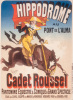 Cadet Roussel Equestrian Show by Jules Cheret