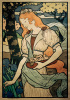Art Exhibition - Grafton Gallery, 1893 by Eugene Grasset