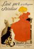 Lait pur Sterilise, 1904 by Theophile-Alexandre Steinlen