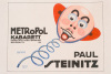 Metropole Kabarett - Paul Steinitz, 1919 by Jo Steiner