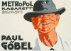 Metropole Kabarett - Paul Gobel, 1918 by Jo Steiner