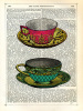 Vintage Cups by Marion McConaghie
