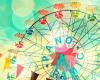 Ferris Wheel Barcelona by Robert Cadloff