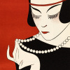 Cecla Pearls (detail) by Gazette du Bon Ton