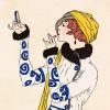Costumes Parisiens (detail) by Gazette du Bon Ton