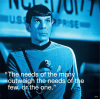 Star Trek - Spock I.Quote by Anonymous