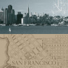 San Francisco Map I by The Vintage Collection