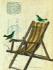 Deckchair Birds by Marion McConaghie