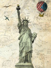 Liberty Balloon by Marion McConaghie