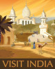 Visit India by Kem McNair
