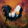 Rooster #503 by Roz