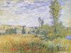 Landscape at Vetheuil by Claude Monet