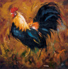 Rooster #502 by Roz