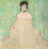 Portrait of Amalie Zuckerkandl (unfinished), 1917-1918 by Gustav Klimt