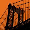 Orange Manhattan by Erin Clark