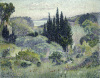 Cypres (Avril) by Henri-Edmond Cross