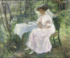 Afternoon Tea In the Garden by Emma Lowstadt Chadwick