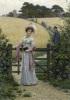 Sunday Morning, 1901 by Edmund Blair Leighton