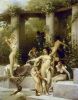 The Bathers by Gustave Clarence Rodolphe Boulanger