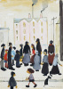 Group Of People, 1959 by L S Lowry