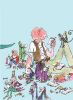 Roald Dahl - Characters Reading by Quentin Blake