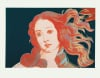 Details of Renaissance Paintings, 1984 (Sandro Botticelli, Birth of Venus, 1482) by Andy Warhol