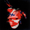 Self Portrait, 1986 (red, white & blue camo) by Andy Warhol