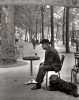 Jacques Prévert, Paris by Robert Doisneau