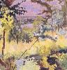 View of the River Vernon by Pierre Bonnard