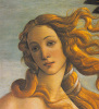 The Birth Of Venus (Detail) by Sandro Botticelli