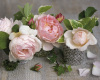 Trois roses by Catherine Beyler