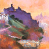 Edinburgh Castle by Colin Ruffell