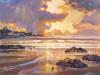 Fiery skye, sandend by Ed Hunter