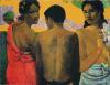Three Tahitians by Paul Gauguin