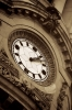 Classical Building And Clock Face by Richard Osbourne