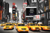 Time Square - Yellow Cabs Day by Anonymous