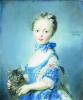 Girl With A Kitten by Jean-Baptiste Perroneau