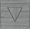 Triangle, 1980 (Silkscreen print) by Sol LeWitt