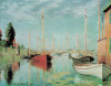 Sailing Boats at Argenteuil by Claude Monet
