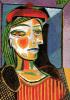 Femme au Beret Rouge by Pablo Picasso