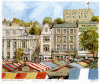Norwich Castle & Market by Philip Martin