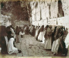 Jews at The Wailing Wall in Jerusalem by Anonymous