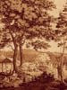 Arcadia (Sepia) II by Anonymous