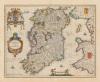 Hibernia Regnum Vulgo Ireland by Joannes Jansson