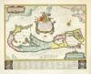 Bermuda 1630 by Willem Janszoon Blaeu