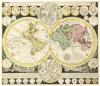 Planisphaerium Terrestre cum Utroque Coelesti Hemisphaerio 1730 by Adam Zurner