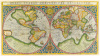 Orbis Terrae Compendiosa Descriptio 1587 by Rumold Mercator